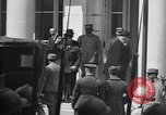 Image of German delegation Versailles France, 1919, second 8 stock footage video 65675039625
