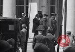 Image of German delegation Versailles France, 1919, second 10 stock footage video 65675039625