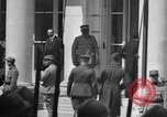 Image of German delegation Versailles France, 1919, second 12 stock footage video 65675039625