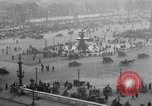 Image of French crowd inspects captured German equipment Paris France, 1918, second 3 stock footage video 65675039627