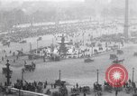 Image of French crowd inspects captured German equipment Paris France, 1918, second 5 stock footage video 65675039627