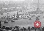 Image of French crowd inspects captured German equipment Paris France, 1918, second 6 stock footage video 65675039627