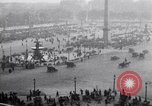 Image of French crowd inspects captured German equipment Paris France, 1918, second 9 stock footage video 65675039627