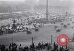 Image of French crowd inspects captured German equipment Paris France, 1918, second 10 stock footage video 65675039627