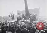 Image of captured railroad gun Paris France, 1918, second 8 stock footage video 65675039629