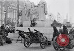 Image of captured German fun carriages Paris France, 1918, second 1 stock footage video 65675039630