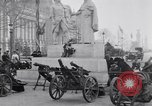 Image of captured German fun carriages Paris France, 1918, second 2 stock footage video 65675039630