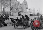 Image of captured German fun carriages Paris France, 1918, second 4 stock footage video 65675039630