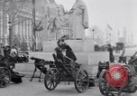 Image of captured German fun carriages Paris France, 1918, second 5 stock footage video 65675039630