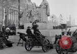 Image of captured German fun carriages Paris France, 1918, second 8 stock footage video 65675039630
