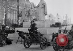 Image of captured German fun carriages Paris France, 1918, second 9 stock footage video 65675039630