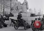 Image of captured German fun carriages Paris France, 1918, second 10 stock footage video 65675039630