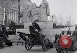 Image of captured German fun carriages Paris France, 1918, second 11 stock footage video 65675039630