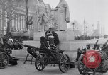 Image of captured German fun carriages Paris France, 1918, second 12 stock footage video 65675039630