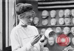 Image of Red Cross workers make prosthetic masks Paris France, 1918, second 1 stock footage video 65675039634