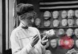 Image of Red Cross workers make prosthetic masks Paris France, 1918, second 2 stock footage video 65675039634
