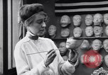 Image of Red Cross workers make prosthetic masks Paris France, 1918, second 3 stock footage video 65675039634