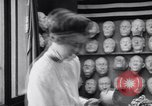 Image of Red Cross workers make prosthetic masks Paris France, 1918, second 5 stock footage video 65675039634