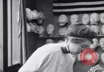 Image of Red Cross workers make prosthetic masks Paris France, 1918, second 7 stock footage video 65675039634
