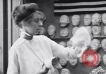 Image of Red Cross workers make prosthetic masks Paris France, 1918, second 8 stock footage video 65675039634