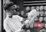 Image of Red Cross workers make prosthetic masks Paris France, 1918, second 9 stock footage video 65675039634