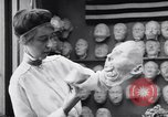 Image of Red Cross workers make prosthetic masks Paris France, 1918, second 10 stock footage video 65675039634