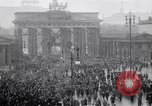 Image of Germans protests Treaty of Versailles Berlin Germany, 1919, second 1 stock footage video 65675039653
