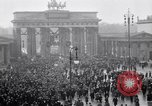 Image of Germans protests Treaty of Versailles Berlin Germany, 1919, second 2 stock footage video 65675039653