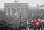 Image of Germans protests Treaty of Versailles Berlin Germany, 1919, second 5 stock footage video 65675039653