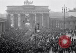 Image of Germans protests Treaty of Versailles Berlin Germany, 1919, second 6 stock footage video 65675039653