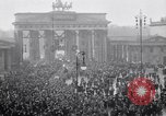Image of Germans protests Treaty of Versailles Berlin Germany, 1919, second 11 stock footage video 65675039653
