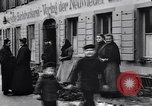 Image of American soldiers buy Christmas tree Germany, 1919, second 2 stock footage video 65675039658