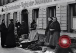 Image of American soldiers buy Christmas tree Germany, 1919, second 4 stock footage video 65675039658