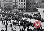 Image of German soldiers Homecoming World War I Germany, 1918, second 4 stock footage video 65675039666