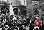 Image of Celebrating First Republic of Austria Salzburg Austria, 1919, second 8 stock footage video 65675039669