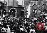 Image of Celebrating First Republic of Austria Salzburg Austria, 1919, second 10 stock footage video 65675039669