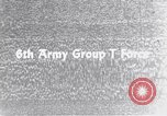 Image of Sixth United States Army personnel Strasburg Germany, 1944, second 5 stock footage video 65675039705