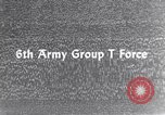 Image of Sixth United States Army personnel Strasburg Germany, 1944, second 7 stock footage video 65675039705