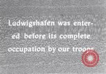 Image of United States troops Ludwigshafen Germany, 1945, second 9 stock footage video 65675039707