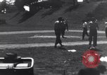 Image of American soldiers playing baseball Heidelberg Germany, 1945, second 4 stock footage video 65675039710