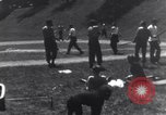 Image of American soldiers playing baseball Heidelberg Germany, 1945, second 5 stock footage video 65675039710