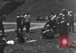 Image of American soldiers playing baseball Heidelberg Germany, 1945, second 9 stock footage video 65675039710