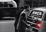 Image of WMCA radio station recording New York City USA, 1951, second 11 stock footage video 65675039752