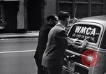 Image of WMCA radio station recording New York City USA, 1951, second 12 stock footage video 65675039752