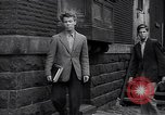 Image of high school age boys New York City USA, 1943, second 8 stock footage video 65675039759