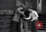 Image of high school age boys New York City USA, 1943, second 9 stock footage video 65675039759
