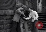 Image of high school age boys New York City USA, 1943, second 10 stock footage video 65675039759