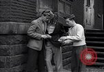 Image of high school age boys New York City USA, 1943, second 11 stock footage video 65675039759
