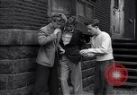 Image of high school age boys New York City USA, 1943, second 12 stock footage video 65675039759