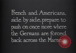 Image of WWI French and American troops dig trenches Marne France, 1918, second 6 stock footage video 65675039783